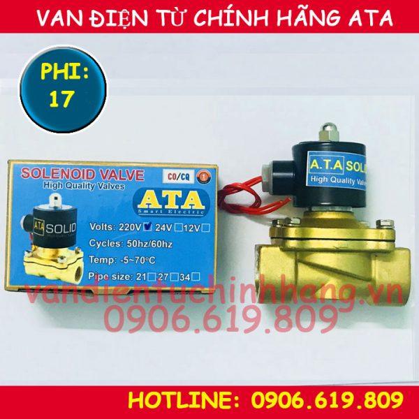 Van điện từ phi 17 ATA