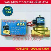 Van điện từ phi 114 ATA