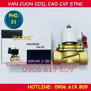 Van điện từ cao cấp STNC phi 21 cuộn coil