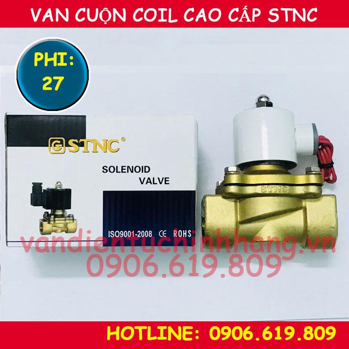 Van điện từ cao cấp STNC phi 27 cuộn coil