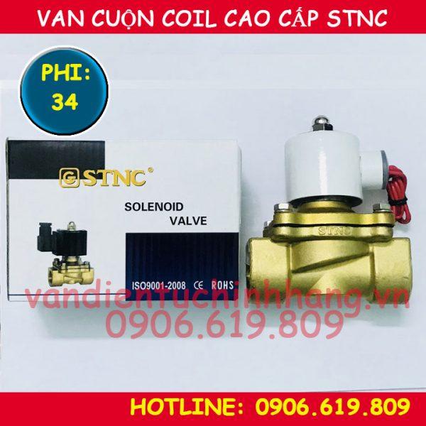 Van điện từ cao cấp STNC phi 34 cuộn coil