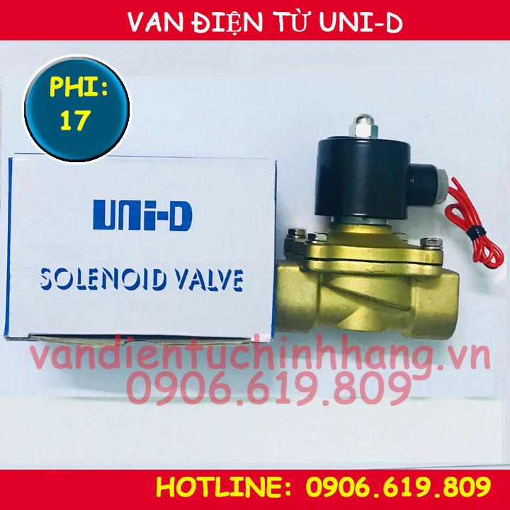 Van điện từ UNID phi 17 UW-10